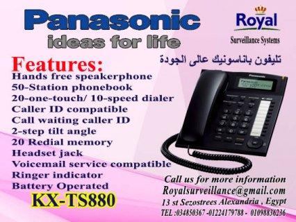 تليفون Panasonic موديل  KX-TS880
