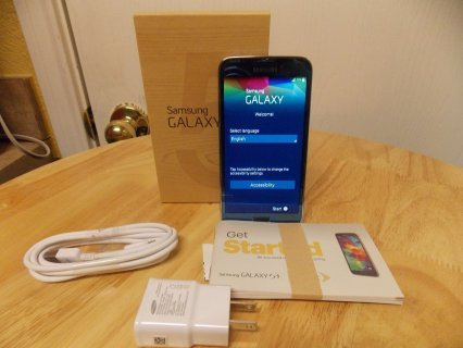Samsung Galaxy S5 Blue Excellent Condition