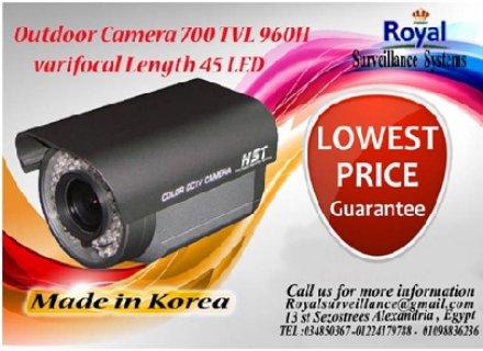 كاميرات مراقبة TVL 700 960H بعدسات متغيرة