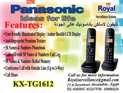 تليفون Panasonic موديل  KX-TG1612