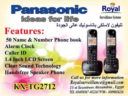 تليفون Panasonic موديل  KX-TG2712