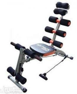 جهاز سكس باك الرياضي للتنحيف وشد منطقة البطن وترهلات الجسم