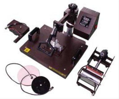 ماكينة الطباعة على المج والتى  شيرت