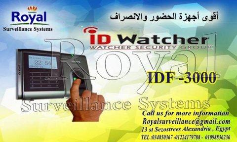 ساعات الحضور والانصراف IDF3000A