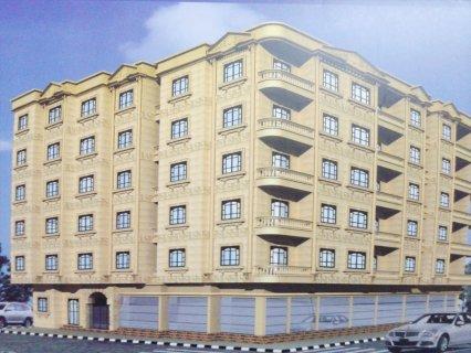 فرصه للشباب : شقة 106م واجهة ناصية بأجمل مواقع حدائق الاهرام قرب