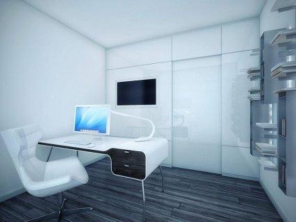 شقة للايجار علي شارع ال90 الرئيسي تصلح مكتب اداري 250م مطلوب 13.