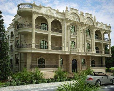 شقة للبيع بالحي الثالث مساحة 244م و 155 حديقة دور ارضي مطلوب 1.3