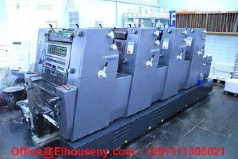 ماكينة هايدلبرغ Printmaster 4 لون