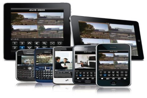 كاميرات مراقبة عن طريق الانترنت