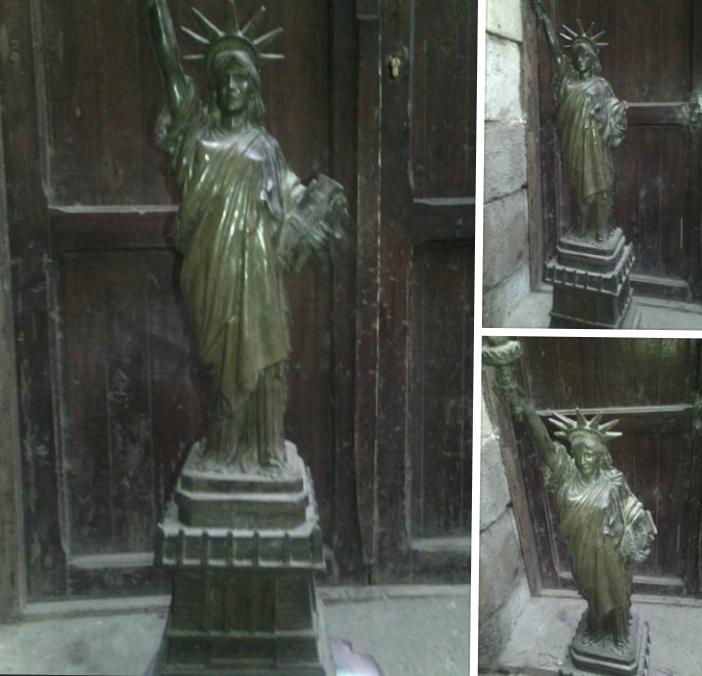 تمثال الحرية من البرونز