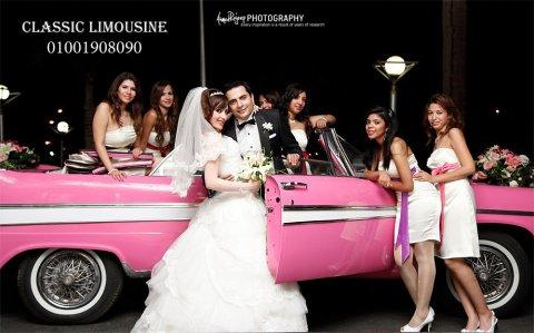 كلاسيك ليموزين لتأجير سيارات الزفاف الكلاسيك