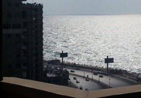 شقق للبيع بالاسكندرية بسرايا على البحر 171م