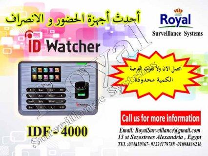 جهاز حضور والانصراف بالبصمة و الكارت IDF4000