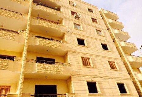 شقه واجهه 250م للبيع على المحاره فى شارع الجيش بحدايق الاهرام ال