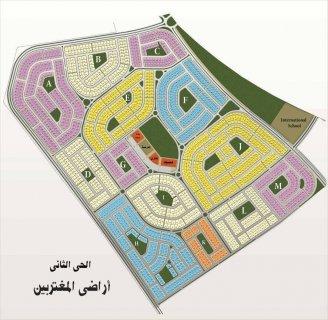 للبيع ارض عمارات بيت الوطن 758 متر علي ميدان