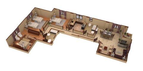 باحدى مشروعات شركة سكن شقة بمساحة 180 م - بتسهيلات