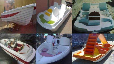 - - ---بدالات قوارب لانشات زحاليق دلسوار فيبرجلاس الشروق فيبركوم