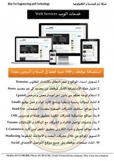 شركة رايز تقدم عرض رائع للشركات من استضافة و تصميم مواقع