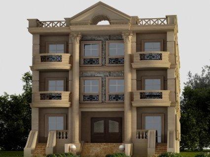 شقة بفيلا بمدينة الشروق الحي التامن بتسهيلات استلام قريب بالجراج