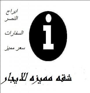 شقه للايجار بمدينة نصر بموقع مغرى وسعر مميز للجادين فقط