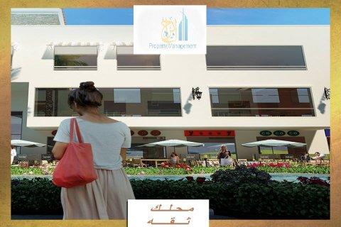محل 51 متر للبيع بالتقسيط بمول ب6اكتوبر بالقرب من مول العرب