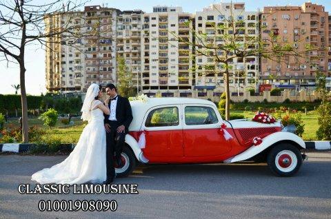 تأجير سيارات الزفاف فى مصر  مترضاش بأى صورة