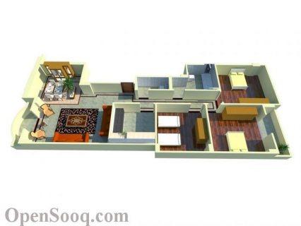 لراغبي التميز شقة 166م بأرقي مواقع ارض المخابرات بحدائق اكتوبر