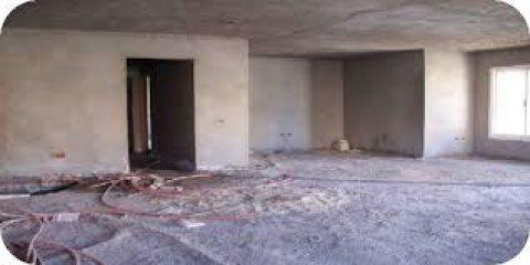 شقة 125م بالحي الرابع باكتوبر نصف تشطيب