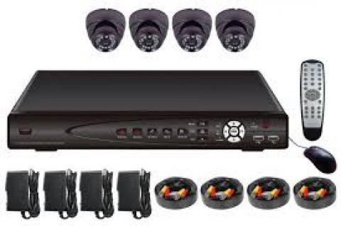 كاميرات مراقبة وDVR