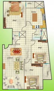 للبيع شقة 157م بسعر مميز ببرج فخم بالعمرانية الشرقية