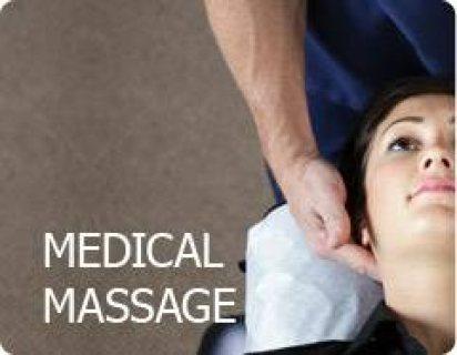"""ميديكال مساج لعلاج الفقرات وشد العضلات 01279076580 ,,..""""::"""