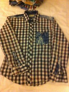 قميص مستورد تركي اصلي اشكال مختلفة بـ كم و بنص كم