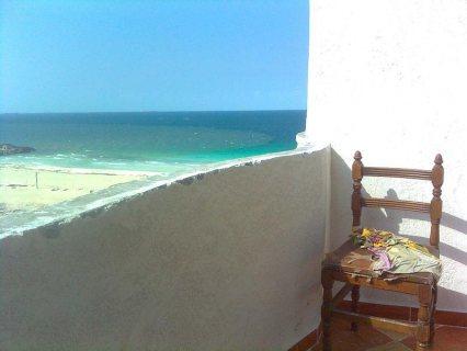 بالصور شقة بشاطىء النخيل2 الكيلو21  فيو رائع للبحر تاني عمارة