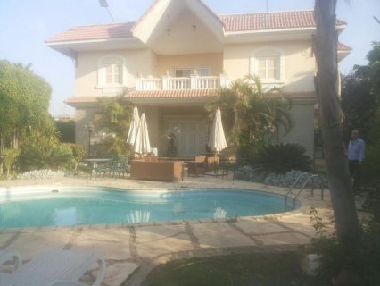 For Rent Villa in one of the greatest Compounds in Sherouk city