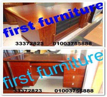 موديلات و مقاسات متعددة للمكاتب الزجاج والخشب، اثاث مكتبي First