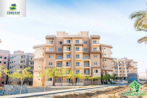 شقة باشجار سيتي  6 أكتوبر للبيع موقع مميز 5د عن مدينة الانتاج ال