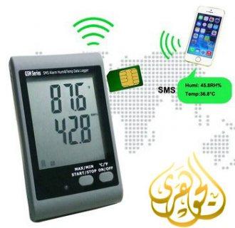 مسجل بيانات التنبيهى لدرجات الحرارة والرطوبة