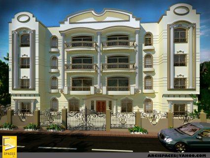 شقة للبيع 200م بمدينة العبور الحي السادس فيلات