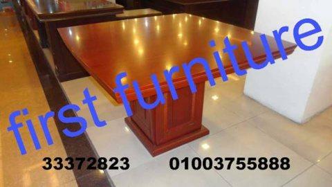 ترابيزات مكتب و كراسي ، اثاثات مكتب جديدة First Furniture