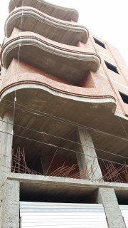 للبيع شقق 160م ببرج حديث بجوار برج الليثي شارع 10م البرج تحت الا