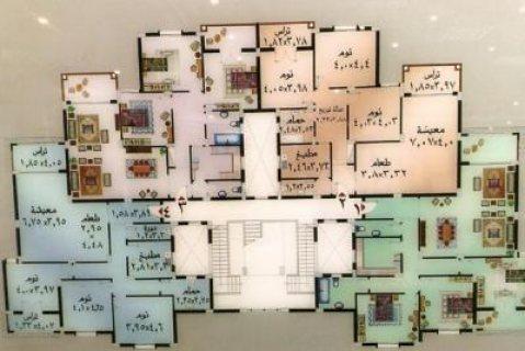 شقة بكمبوند الخمائل 175م على المحور مباشرة