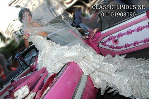سيارة للايجار الافراح سيارة الزفاف الجديدة