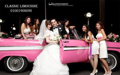 لزفاف مبهر بالسيارة المكشوفة للتأجير فى الافراح