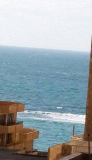 شقة 180متر العصافرة بحري بجوار فندق الوردة على البحر