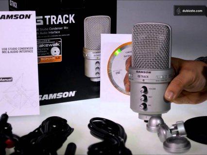 للبيع مايك كوندنسرG-trackلا يحتاج لكارت صوت خارجى استعمال 4 شهور