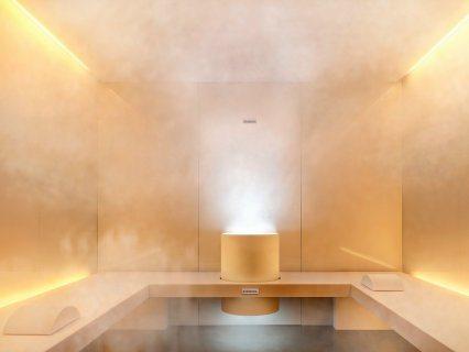 فى احدث غرفة بخارٍِ _(حمام مغربى وتكييس وتعطير الجسم وماسك للوجه