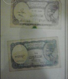 خمسة قروش ورقية من  سنة 1940