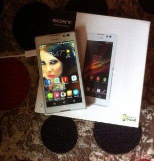 موبايل Sony Xperia c للبيع بمشتملاته