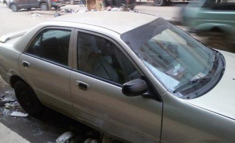 سيارة مازدا 323 موديل 2000 للبيع