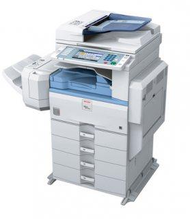 ماكينات تصوير ريكو mp4000المستندات4×1  ماركةاليابانيه